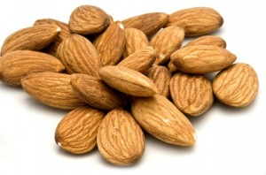Food Dried Almonds Almonds Nut Organic Snack